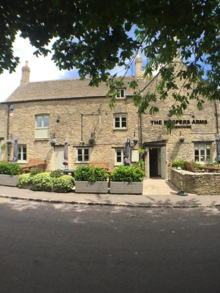 The Keepers Arms in Quenington, Gloucestershire, England