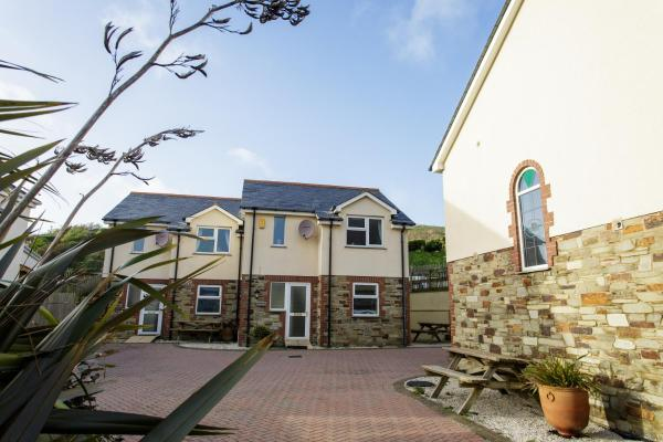 Tregurrian Villas in Newquay, Cornwall, England