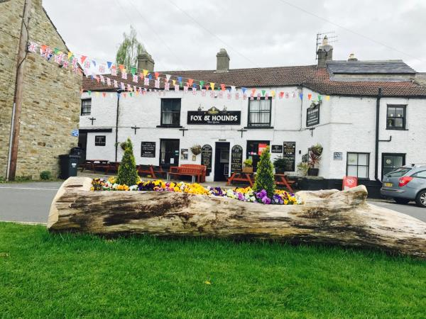 The Fox & Hounds Inn in West Burton, North Yorkshire, England
