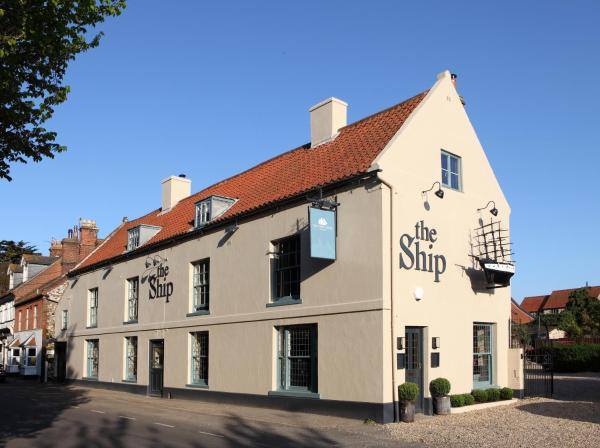 The Ship Hotel in Titchwell, Norfolk, England