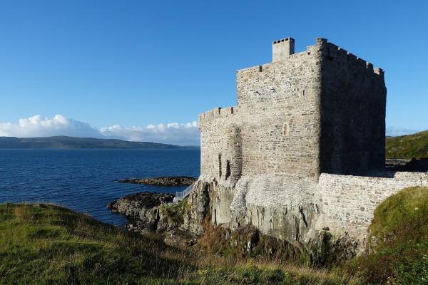 Mingary Castle in Kilchoan, Highland, Scotland