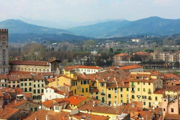 Lucca: Car hire in 1 pickup location