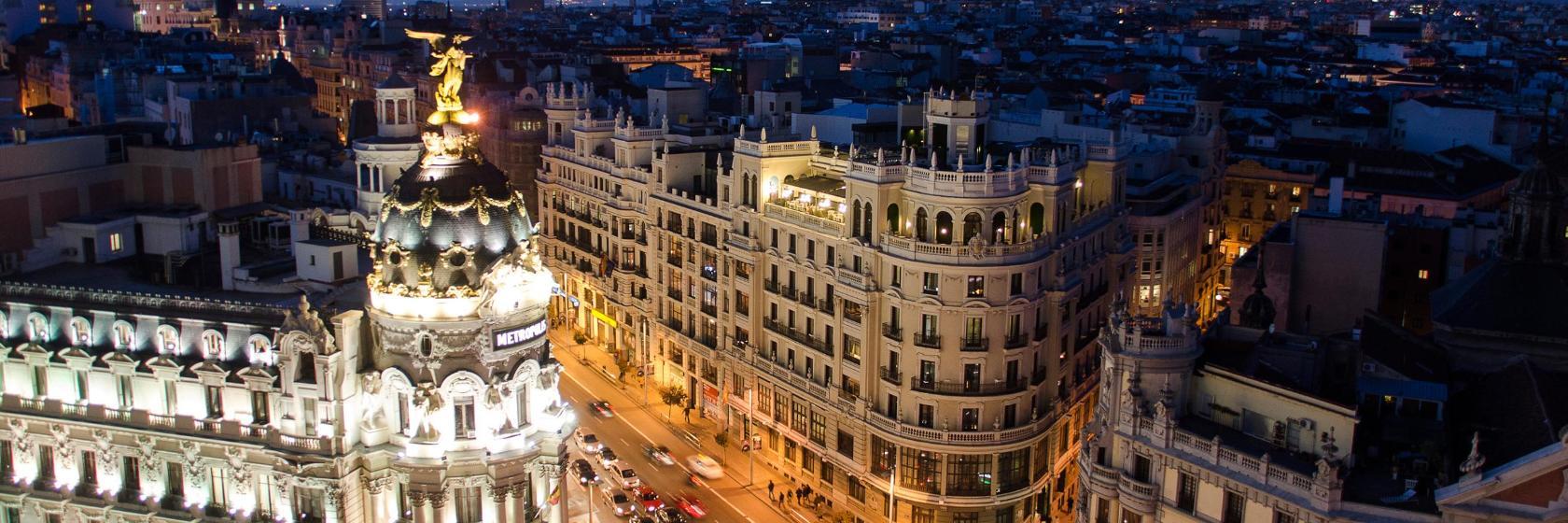 Los 10 mejores hoteles cerca de Gran Vía en Madrid, España