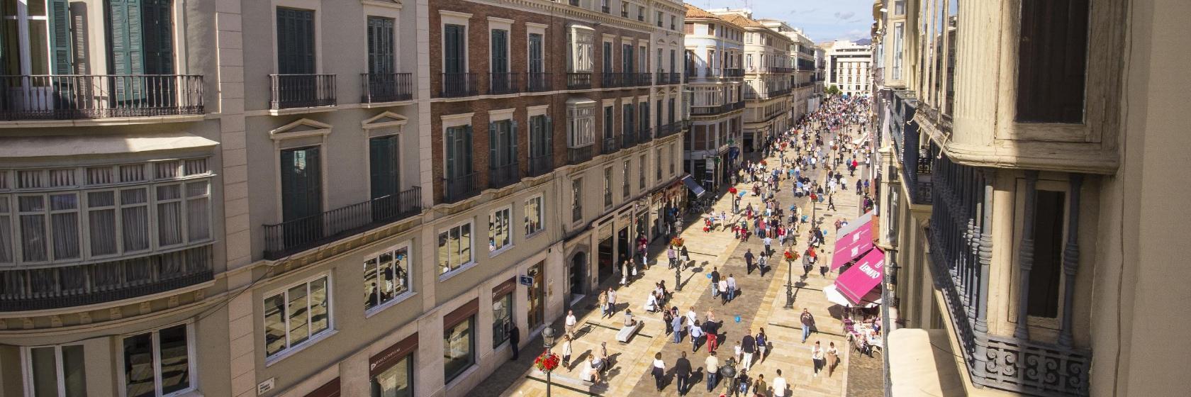 Los 10 mejores hoteles cerca de Calle Larios en Málaga, España