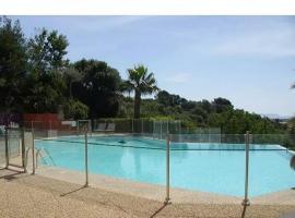 Superbe Duplex 35m2 vue mer avec piscine et tennis