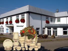 Keramik Hotel Rheinsberg, B&B i Rheinsberg