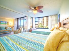 Beautiful 7th Floor with Partial Ocean Views   1 Block to Beach   Free Parking & WIFI