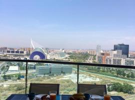 ALEX- OCEANOGRAFIC APARTMENT. WI-FI, hotel with pools in Valencia