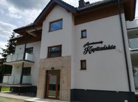 Apartamenty Kapitanskie, beach hotel in Iława