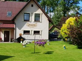 Holiday Home Ermine, hotel in Sigulda