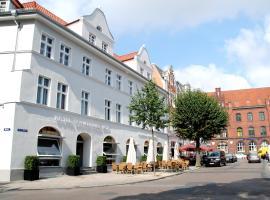 Hotel Schweriner Hof, Hotel in Stralsund