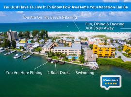 Treasure Island Waterfront Condo, hotel near Treasure Island Golf Tennis Recreation Center, St Pete Beach