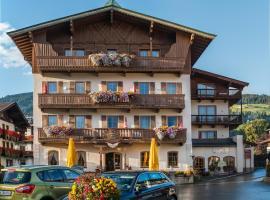 Hotel Bräuwirt, hotel v destinácii Kirchberg in Tirol