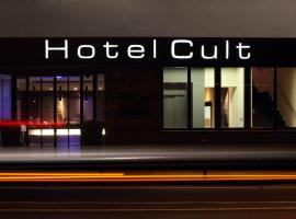 Hotel Cult Frankfurt City, viešbutis Frankfurte prie Maino
