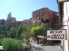Hotel Mesón del Gallo, pet-friendly hotel in Albarracín