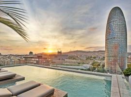 ホテル SB グロー****サプ、バルセロナのホテル