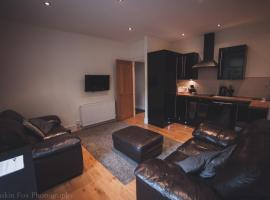 Contemporary open plan two bedroom