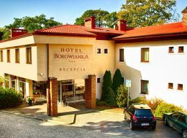 Hotel Borowianka, family hotel in Ostrów Wielkopolski
