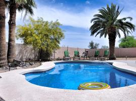 Resort Style Phoenix Home Private Pool, 3BR