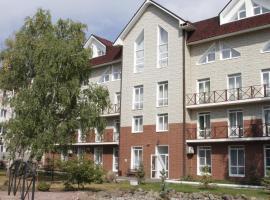 Hotel Monblan, ski resort in Zelenaya Polyana