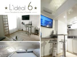 L'IDEAL 6 ( casino a 50m, plage a 150m), budget hotel in Trouville-sur-Mer