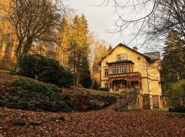 Villa Belvedere, hotel v Janských Lázních