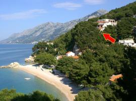 Apartments by the sea Brela, Makarska - 2713