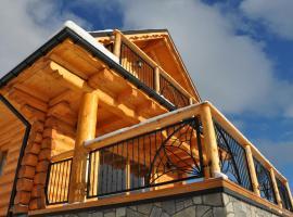 Domki Na Złotym Groniu – hotel w pobliżu miejsca Złoty Groń Ski Lift w Istebnej