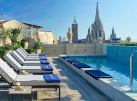 H10 Madison 4* Sup, accessible hotel in Barcelona