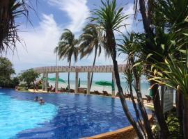 Baan Sansaran tropical beachfront Condo