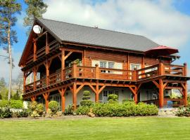 Cozy Chalet in Septon with Sauna and Jacuzzi