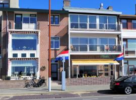 Hotel B&B Seahorse, budget hotel in Katwijk