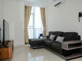 2BR Artistic Room Lavenue Apartment By Travelio