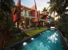 The Acacia Villa - Luxury Infinity Pool, self catering accommodation in Vagator