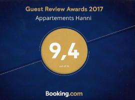 Appartements Hanni, pet-friendly hotel in Ehrwald