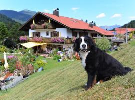 Landhaus Sabine, pet-friendly hotel in Wallgau