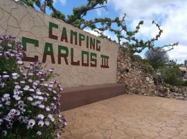 Camping Carlos III, resort village in La Carlota