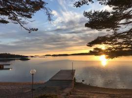 Sommarboende vid havet, hotell i Strömstad