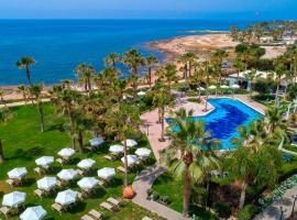 Aquamare Beach Hotel & Spa, hotel in Paphos City