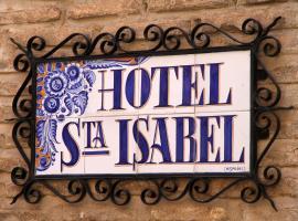 Hotel Santa Isabel, hotel in Toledo