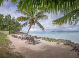 Villas Coco Beach Praslin, отель в городе Anse Kerlan