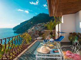 Hotel Eden Roc Suites, hotel en Positano