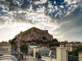 Plaka's Villa with Breathtaking Acropolis view