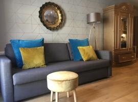 Central York Blue Sofa