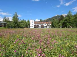 Hotel Berghof, hotel near King's House on Schachen, Seefeld in Tirol
