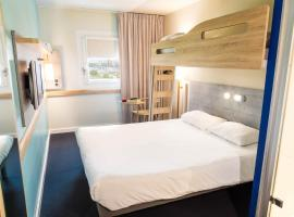 ibis Budget Luxembourg Aeroport, hotel in Luxembourg
