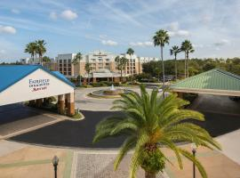 SpringHill Suites by Marriott Orlando Lake Buena Vista in Marriott Village, hotel v Orlandu