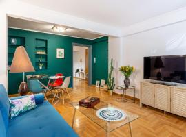 Boho Chic Apartment, Kolonaki District, hotel near Lycabettus Hill, Athens