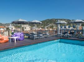 BEST WESTERN PLUS CANNES RIVIERA & SPA, spa hotel in Cannes