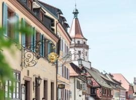 Hotel Restaurant Sonne, hotel in Gengenbach